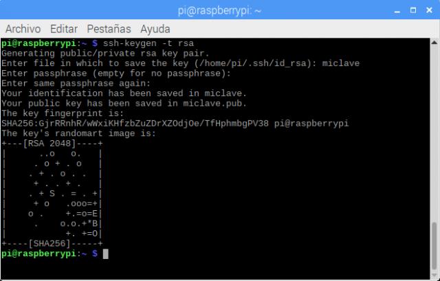 Conectar Raspberry por SSH